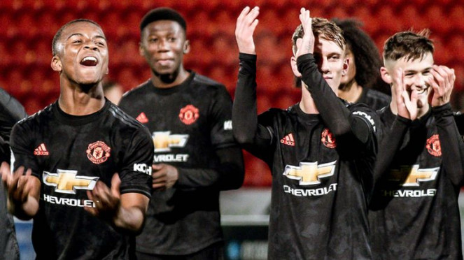Pemain muda Manchester United