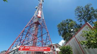 BTS pertama di Indonesia di Bukit Dangas, Batam