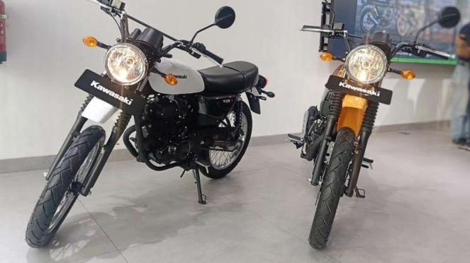 Kawasaki luncurkan motor baru W175TR