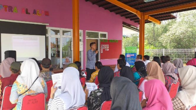 Kaum muda marjinal Jakarta ikut pelatihan keterampilan kerja