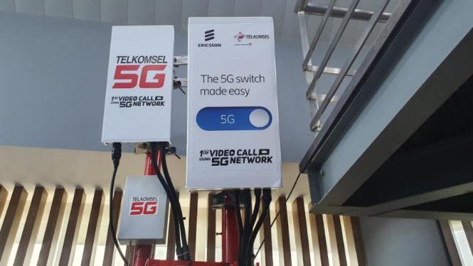 Jaringan 5G Telkomsel