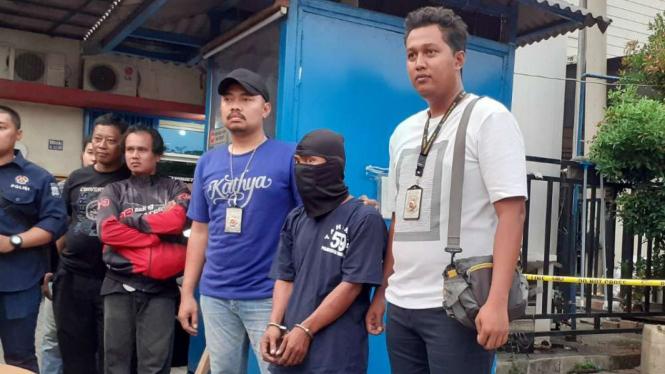 Pembuat bom palsu di ciduk di Tangerang.
