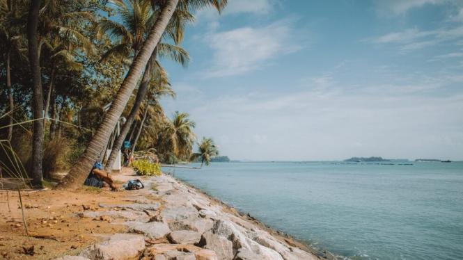Jelajahi Spot Wisata Gratis di Sentosa Island