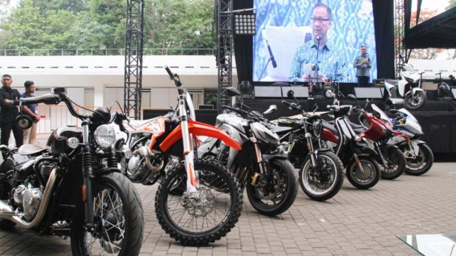Wakili Jokowi, Menperin Buka IIMS Motobike Expo 2019