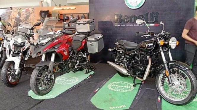 Tiga sepeda motor baru Benelli meluncur di Indonesia