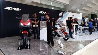 Honda Pamerkan 2 Motor yang Jadi Tren di IIMS Motobike Expo 2019