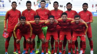 Skuat Timnas Indonesia U-22 di SEA Games 2019.