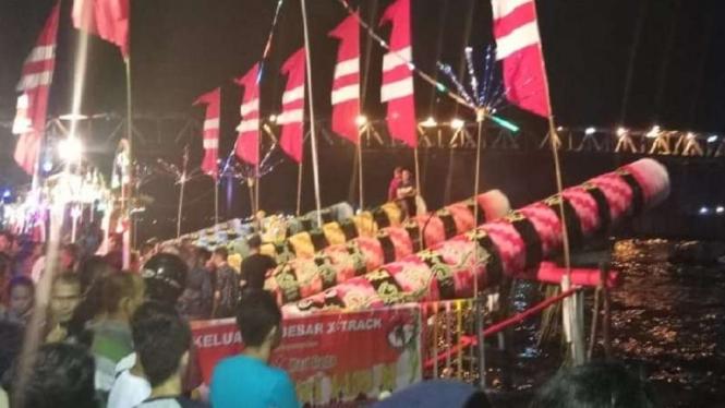 Meriam Karbit permainan rakyat dan jadi tradisi di Pontianak, Kalimantan Barat