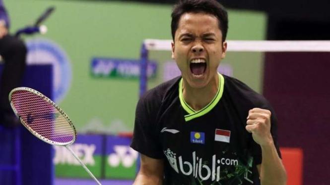 Pebulutangkis Indonesia, Anthony Sinisuka Ginting.