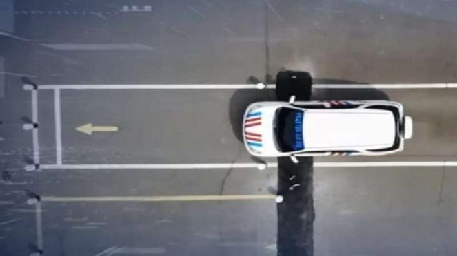Ilustrasi uji praktik pembuatan SIM Mobil