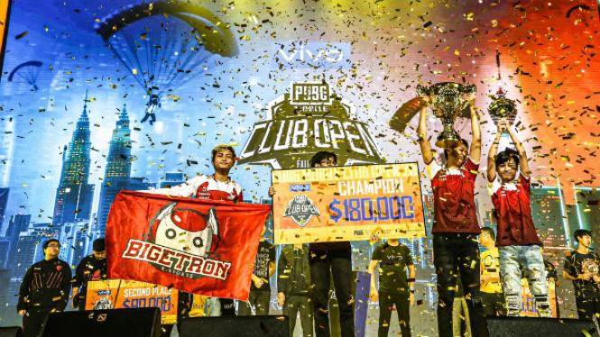Bigetron RA menangkan juara dunia kompetisi PUBG mobile