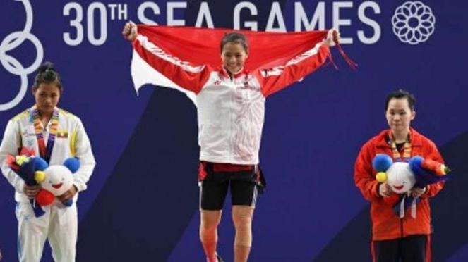 Windy Cantika Aisah, Atlet Angkat Besi Indonesia