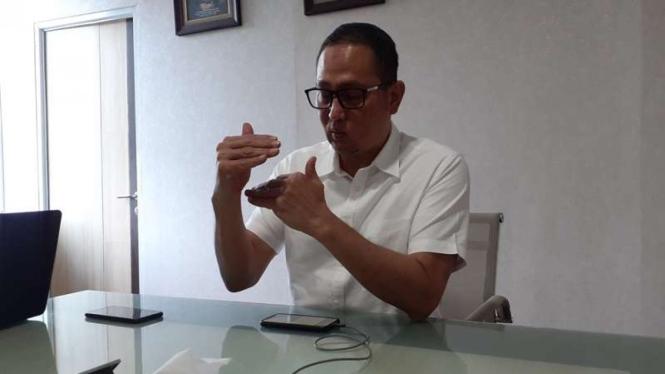 Direktur Jenderal Aplikasi Informatika Kominfo, Semuel Abrijani Pangerapan.