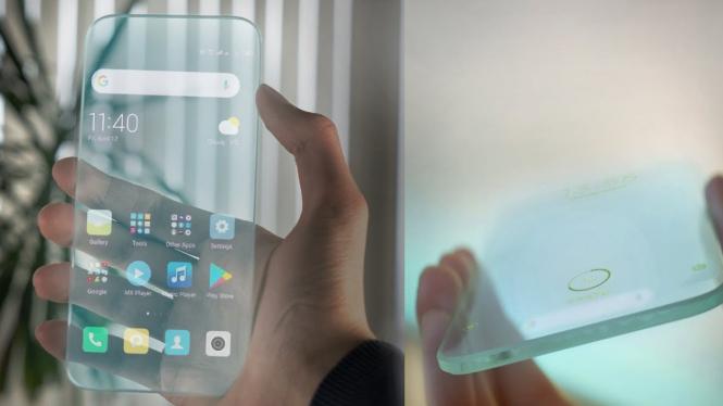 Smartphone canggih dan unik.
