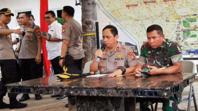 Kapolda Metro Jaya, Irjen Gatot Eddy Pramono, jelaskan kejadian ledakan di Monas