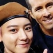 Chanyeol EXO dan Ryan Reynolds.