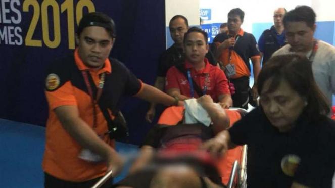 Evakuasi dari arena SEA Games