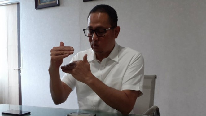 Dirjen Aptika Kementerian Kominfo, Semuel Abrijani Pangerapan.