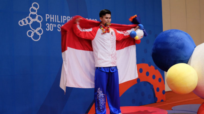 Atlet Wushu Indonesia, Edgar Xavier Marvelo