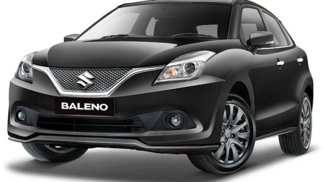 Suzuki Baleno Hatchback 2019 Hitam.