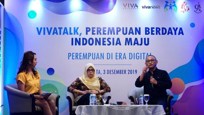 VIVAtalk: Perempuan Berdaya Indonesia Maju