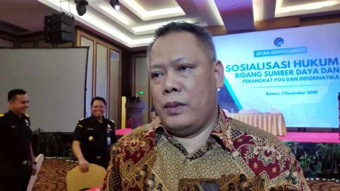 Direktur Standarisasi Perangkat Pos dan Informatika Kominfo, M Hadiyana