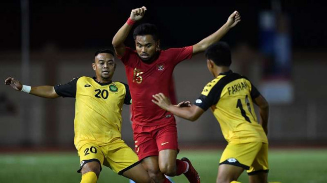 Laga Timnas Indonesia U-22 kontra Brunei Darussalam di SEA Gams 2019
