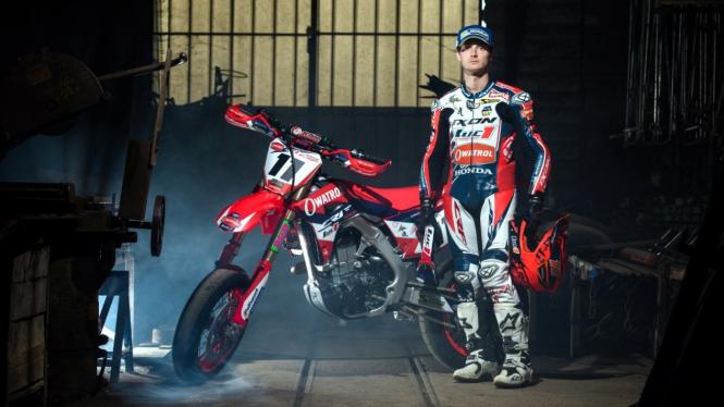 Pembalap Supermoto asal Prancis, Germain Vincenot