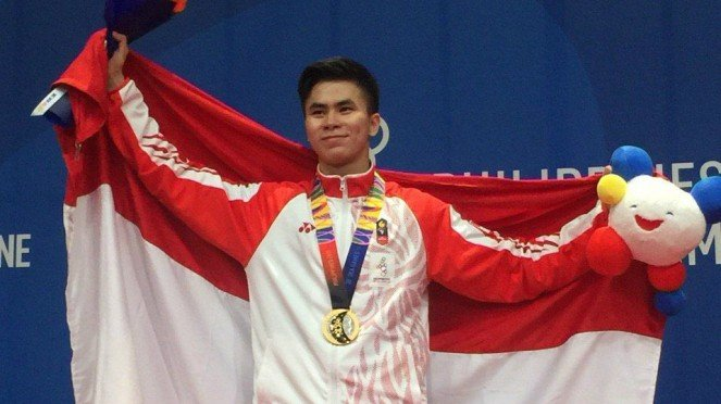 Atlet wushu Indonesia peraih emas SEA Games 2019, Edgar Xavier Marvelo