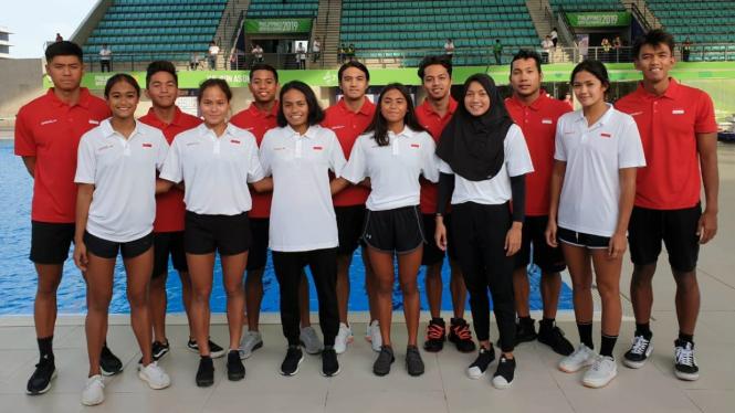 Skuat renang Indonesia di SEA Games 2019