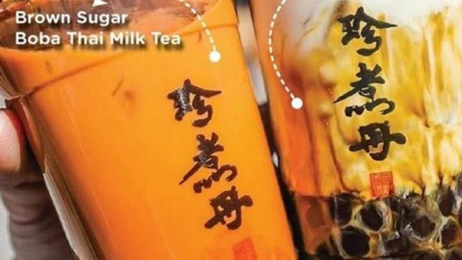 Minuman Boba asal Taiwan