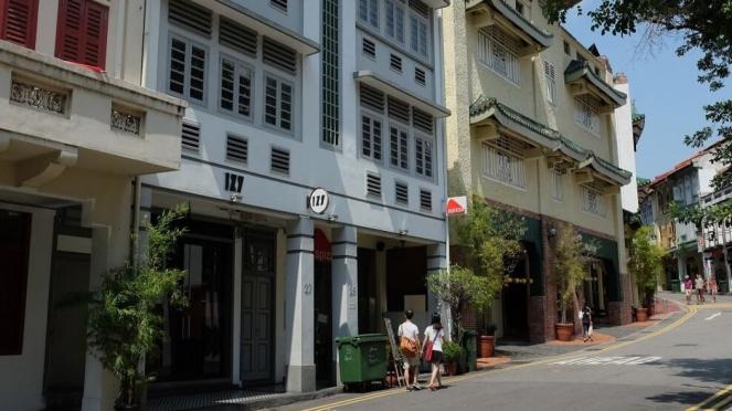 Jalanan di Singapura