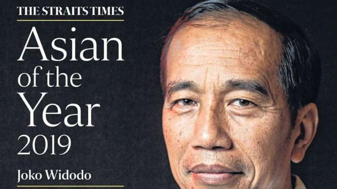 Presiden Jokowi raih penghargaan dari The Straits Times