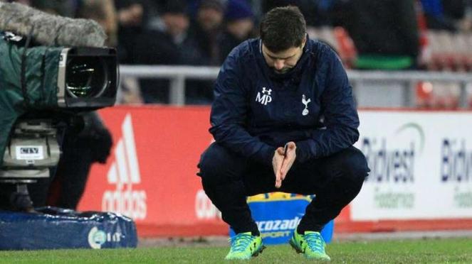 Mauricio Pochettino saat masih menangani Tottenham Hotspur