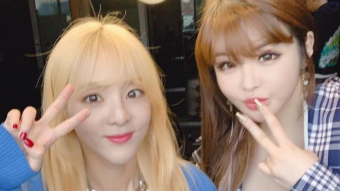 Sandara Park dan Park Bom eks 2NE1 lahir di tahun tikus.