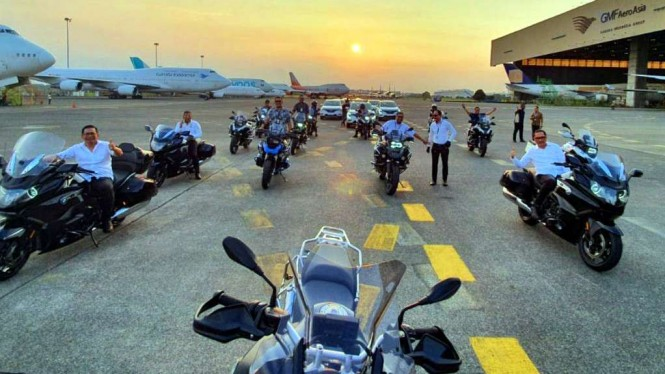 Foto moge di bandara