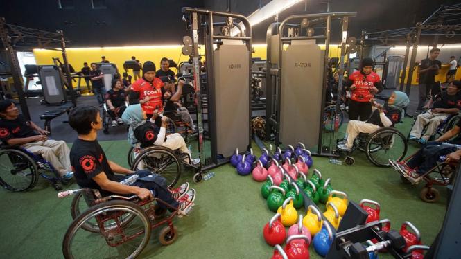 Melihat Aktivitas Fitness Penyandang Disabilitas