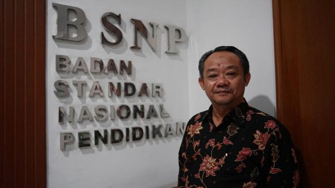 Kepala BSNP (Badan Standar Nasional Pendidikan) Abdul Muti