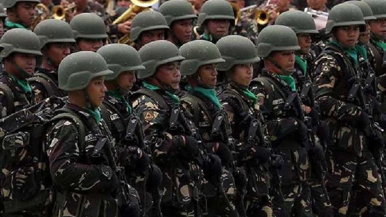 Angkatan Darat Filipina.