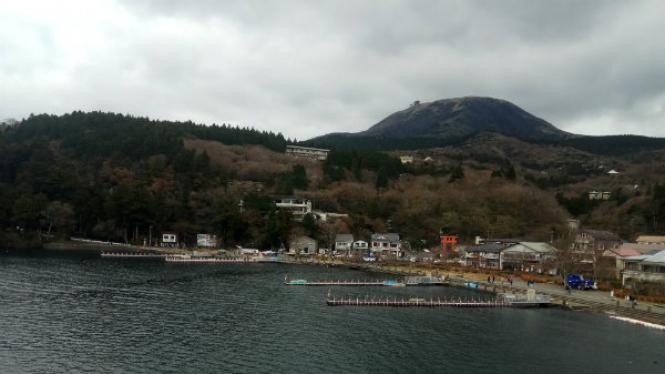 Lake Ashi Jepang