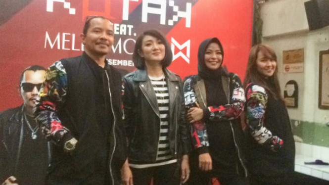 Melly Mono Gantikan Tantri Jadi Vokalis Band Kotak
