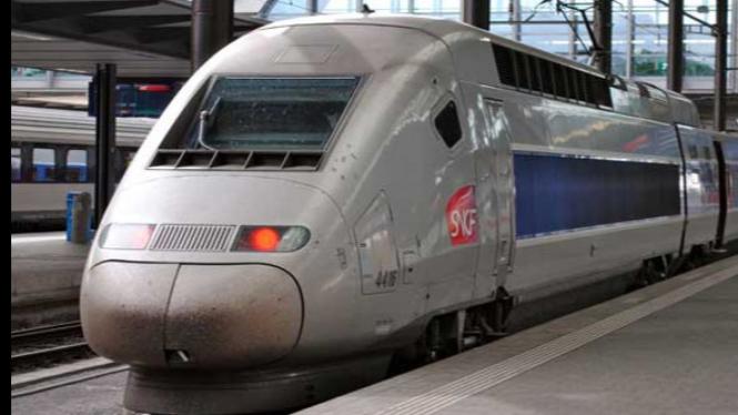 SNCF TGV POS - Kereta Api Tercepat Di Dunia Saat Ini