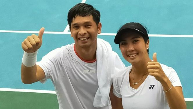 Ganda campuran tenis Indonesia, Christopher Rungkat/Aldila Sutjiadi