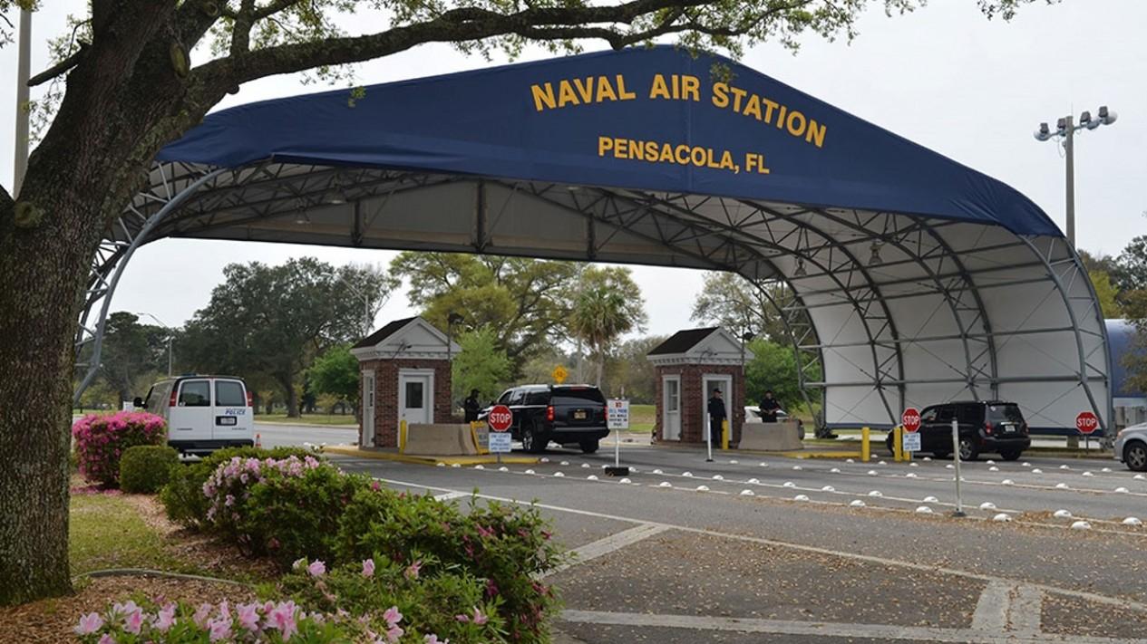 Pangkalan militer Angkatan Laut Amerika Serikat di Florida.