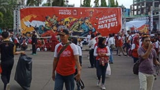 Organisasi kemasyarakatan pendukung Joko Widodo (Projo) gelar Kongres di Jiexpo.
