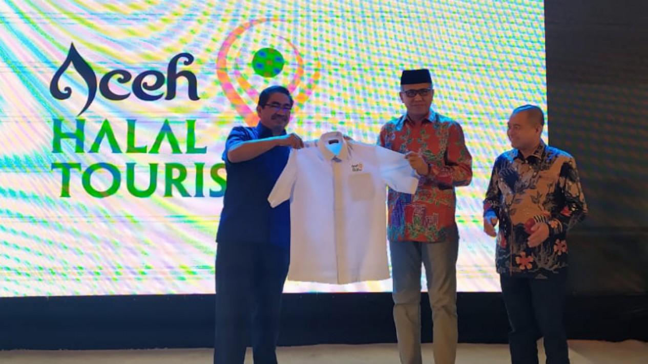 Peluncuran logo Pariwisata Aceh.