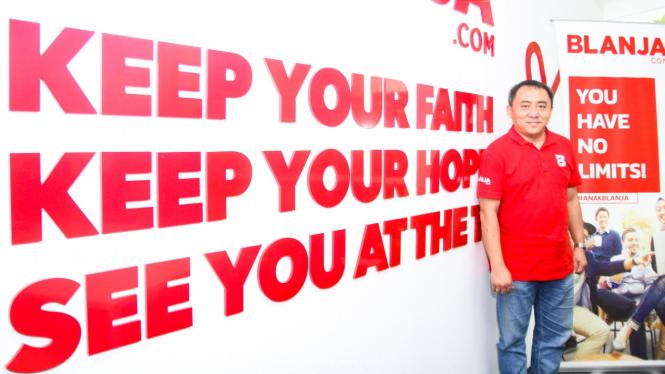 Jemy Confido, CEO Blanja.com