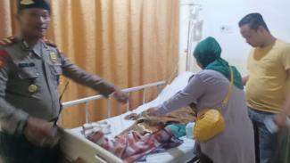 Korban mendapatkan perawatan di RS