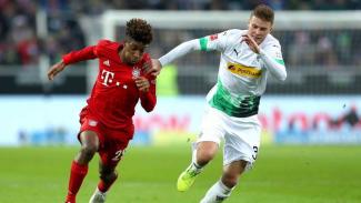 Laga Bundesliga 2019/2020 antara Borussia Moenchengladbach vs Bayern Munich