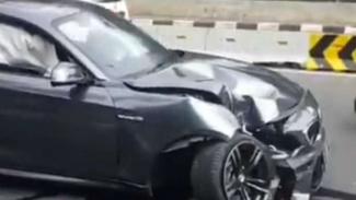 Kecelakaan mobil BMW
